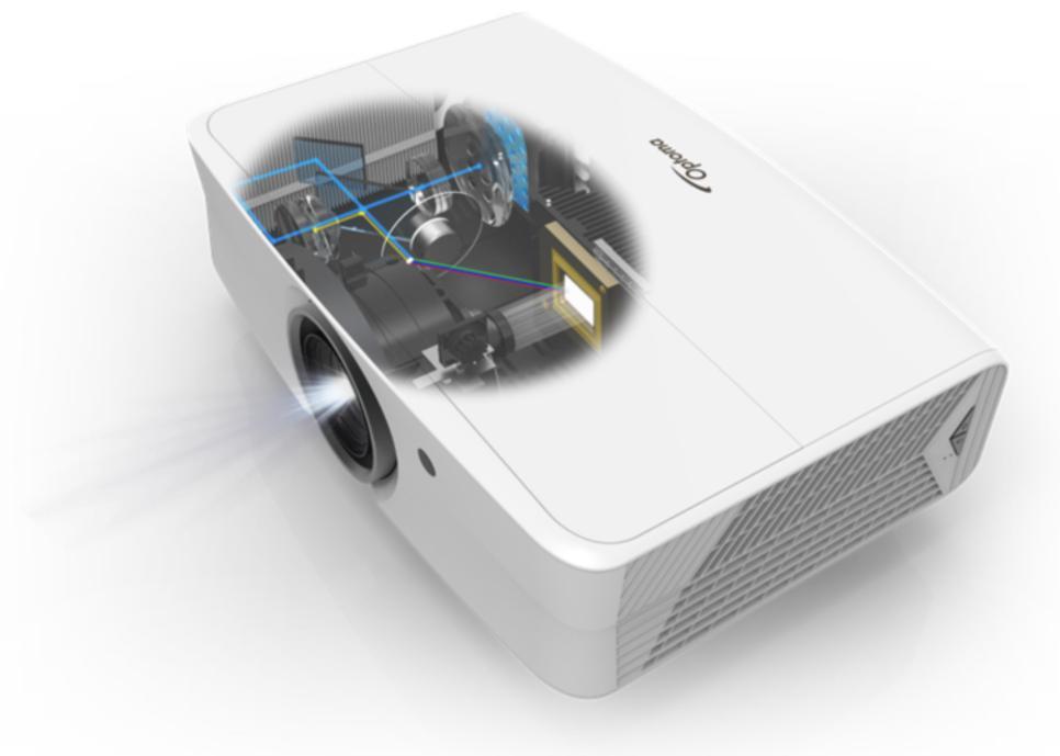4K Optoma UHZ65LV, 5000ANSI (3840x2160Px)
