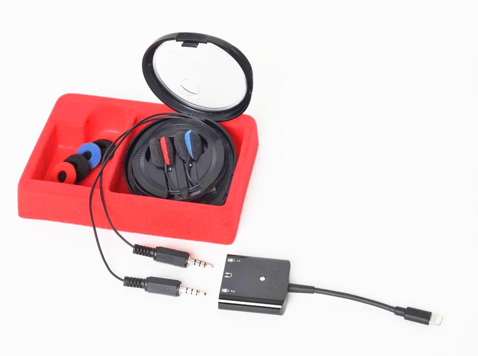 OKM2, Klassik, TRRS Steckern fürs iPhone und für perfekt räumliche O-Ton Aufnahmen