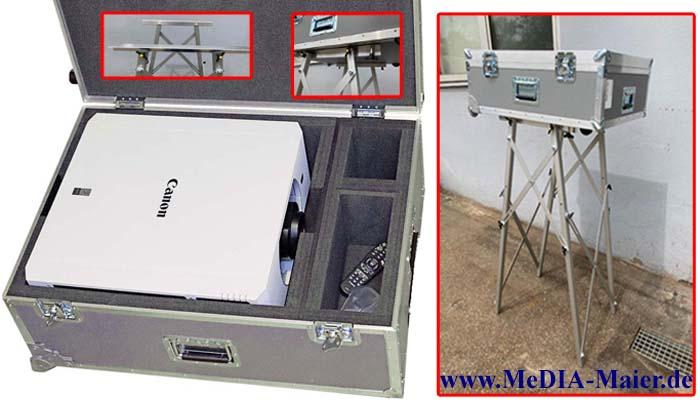 Beamerkoffer WUX7000z usw. mit Ständer (Trolly) Ausstellungsstück,