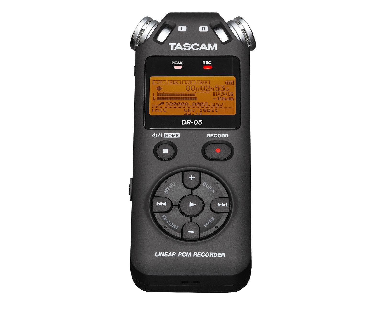 TASCAM DR-05, O-Ton Recorder