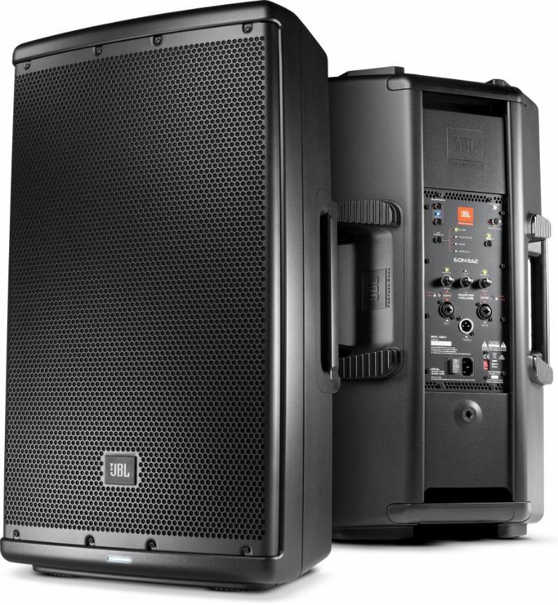 JBL EON612, 500Watt, Aktiv-Lautsprecher